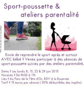 sport poussette à Lyon