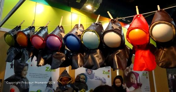 Les capuchons Rainbow by Zoli