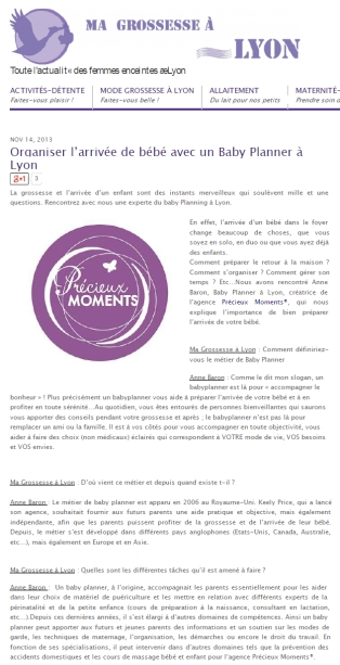 Article blog ma grossesse à Lyon 14 novembre 2013 (p1)