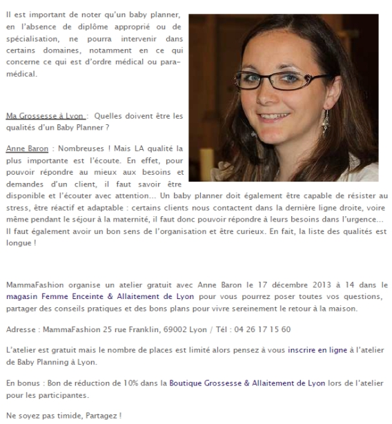 Article blog ma grossesse à Lyon 14 novembre 2013 (p2)