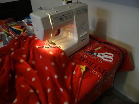 Enfin !!!! La couture des carrés et de la couverture !