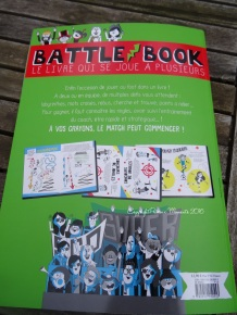 battle book foot couverture