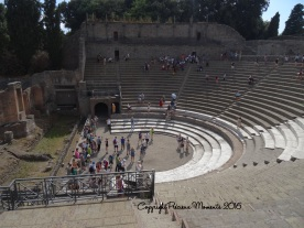 amphitheatre pompei