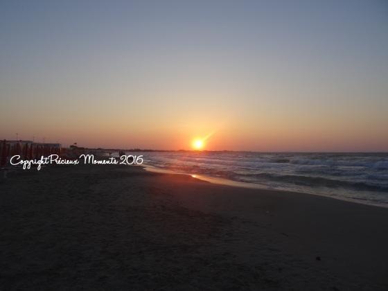 coucher du soleil plage