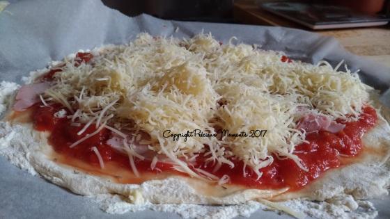 garniture pizza