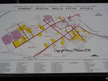 plan pompei