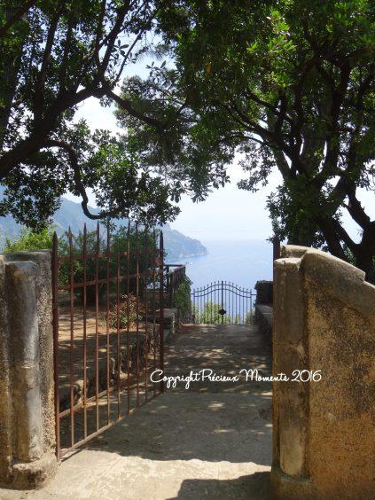 vue portail villa cimbrone