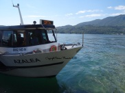 bateau lac orta