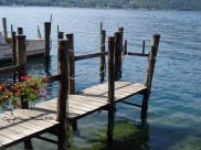 ponton lac d orta