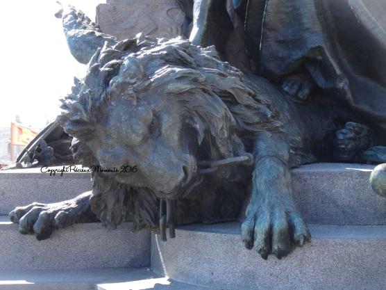 statue lion venise
