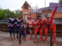 walibi equipe plongeurs wet side story