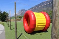 jeu gonflable labyrinthe aventure