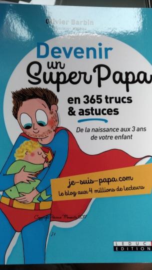livre devenir un super papa