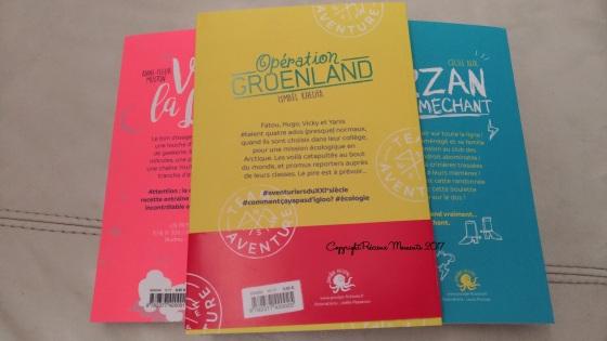 trio livre roman enfant dos poulpe edition
