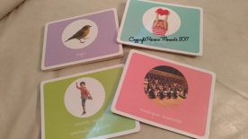cartes eveil musical montessori
