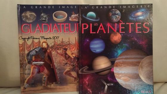 grande imagerie gladiateur et planetes