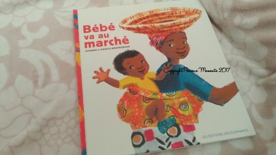 livre bebe va au marché