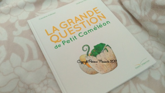 livre la grande question de petit cameleon