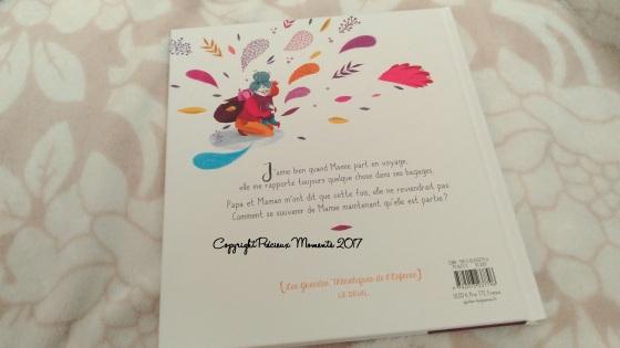 livre mamie est partie couverture