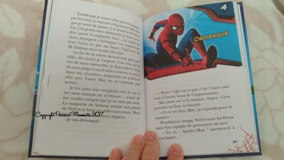 livre spiderman interieur