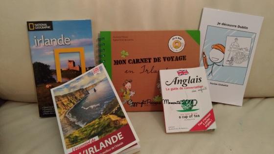 livres voyage irlande