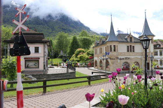 miniatures suisse swiss vapeur parc