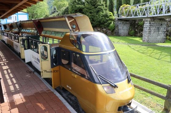 train miniature swiss vapeur parc