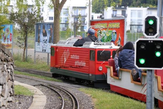 train rails swiss vapeur parc
