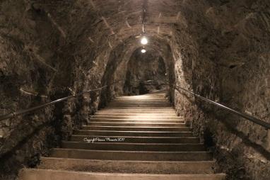 tunnel trummelbachfall
