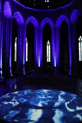 interieur abbaye mont saint michel