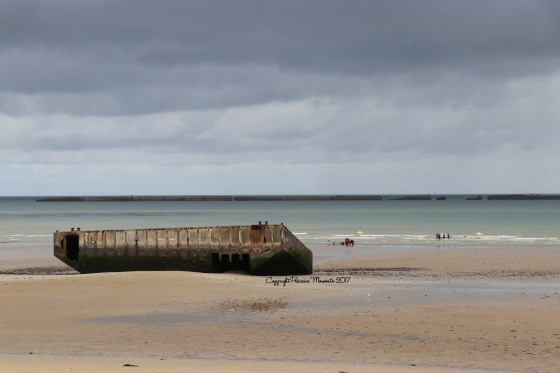 plage debarquement arromanches