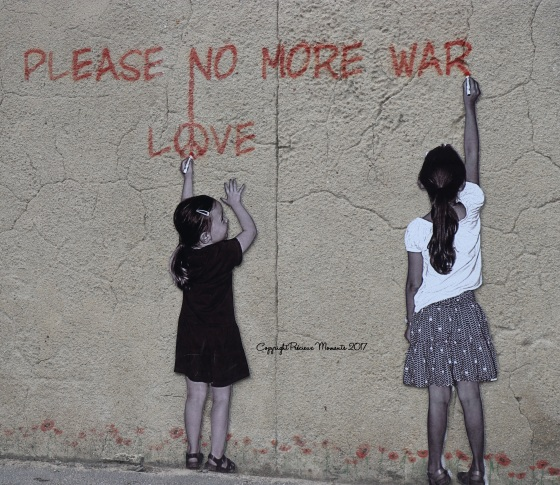 street art no more war