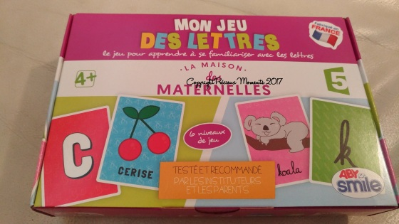 boite mon jeu des lettres les maternelles