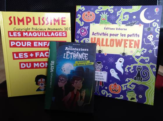 selection livres halloween