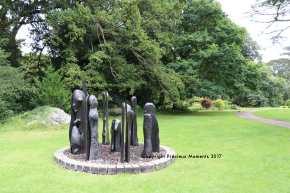 statues jardins chateau blarney