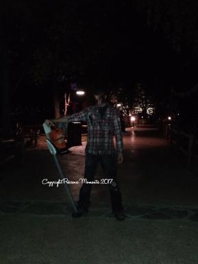 walibi bucheron zombie halloween