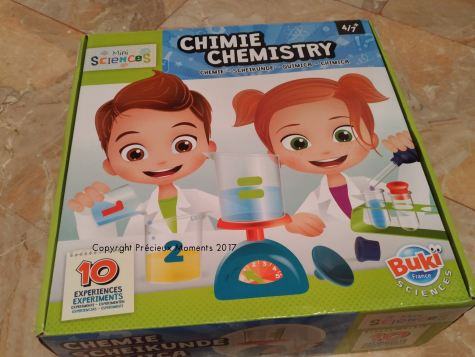 kit mini sciences chimie enfant buki