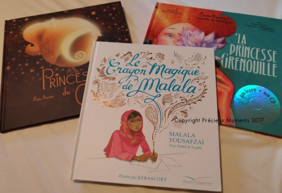 selection livres princesses