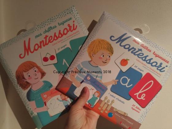 lettres et chiffres montessori