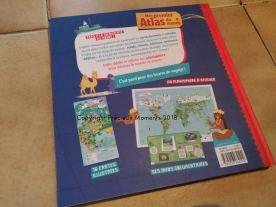 livre mon premier atlas du monde dos