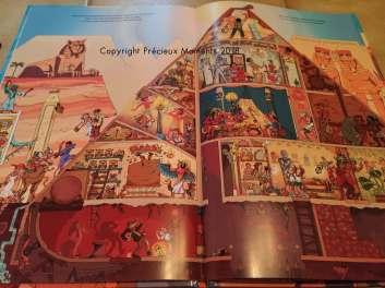 livre pyramide enfant interieur
