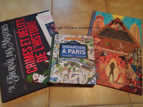 livres enigmes enfants