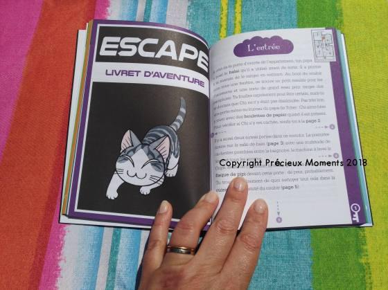 escape game livre chi