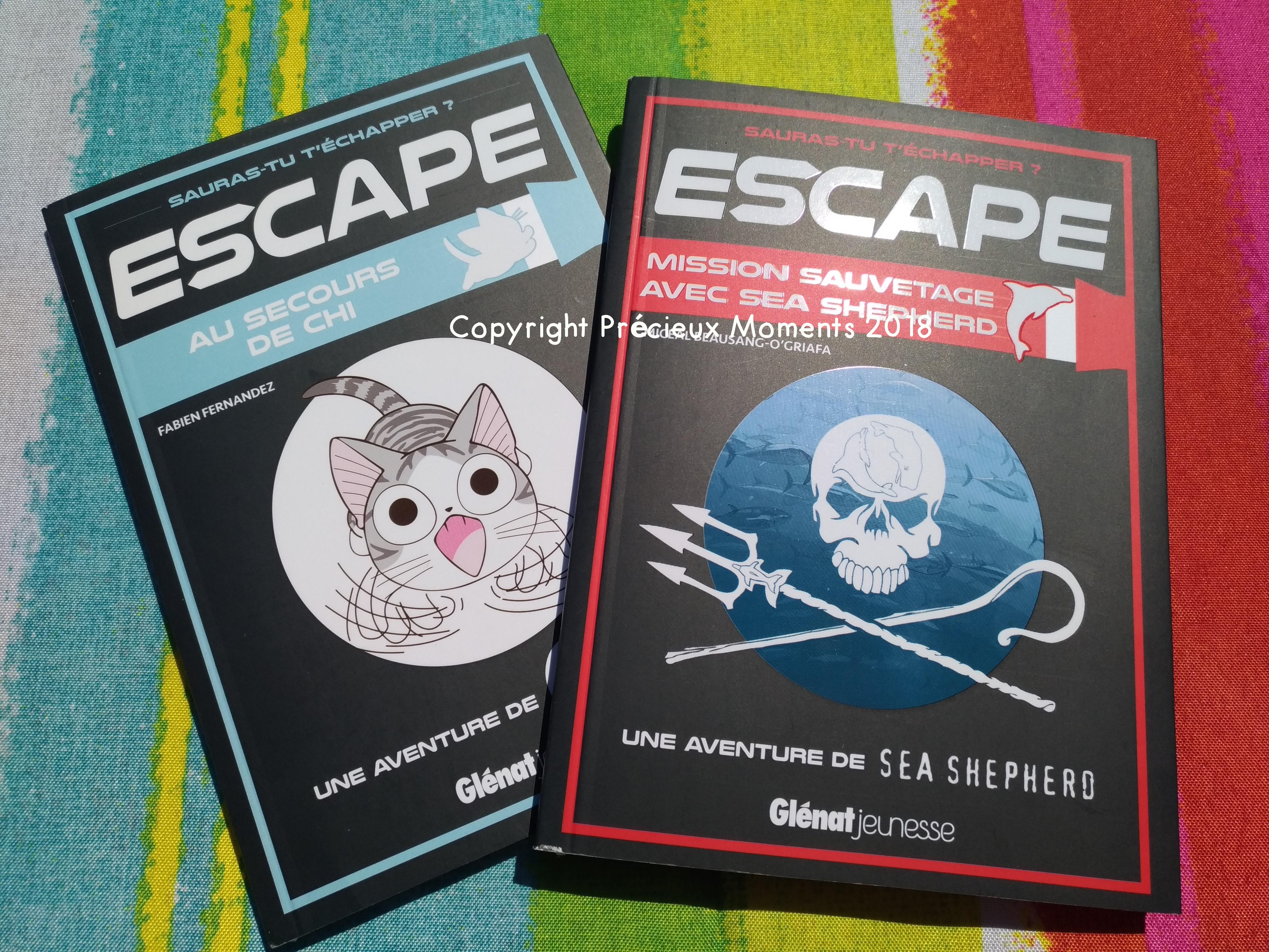 Escape Game Livre Glenat Enfant Precieux Moments