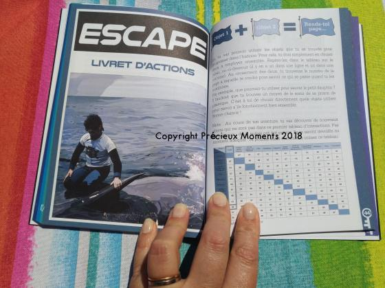 escape game livre glenat