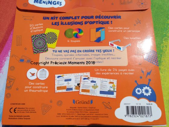 illusions optique coffret grund