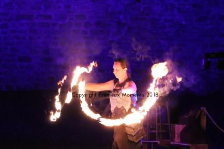 jongleur feu trevoux