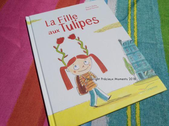livre la fille aux tulipes