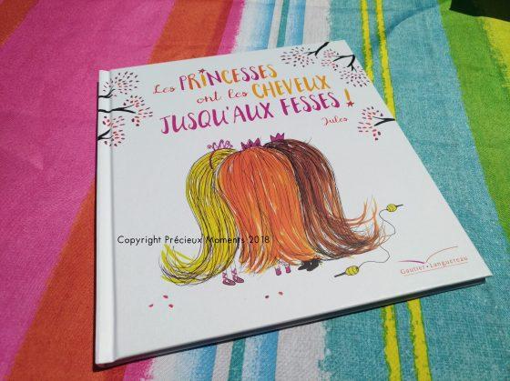 livre les princesses ont les cheveux jusqu'aux fesses