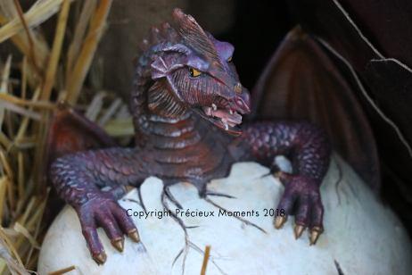 oeuf bébé dragon